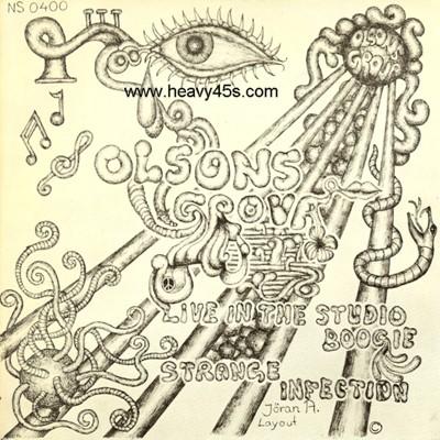 Olsons Grova Live In The Studio Boogie Strange Infection